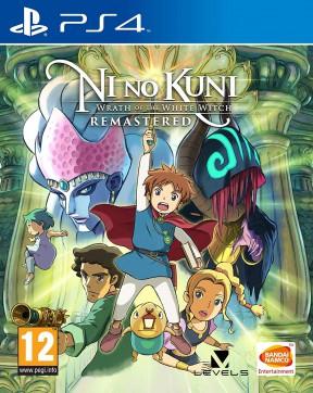 Ni no Kuni: la Minaccia della Strega Cinerea PS4 Cover