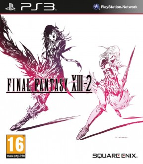 Final Fantasy XIII-2 PS3 Cover