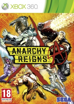 Anarchy Reigns Xbox 360 Cover