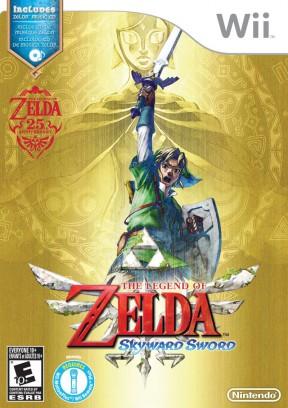 The Legend of Zelda : Skyward Sword Wii Cover