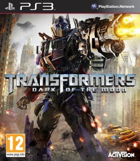 Transformers: Dark of the Moon PS3 Cover