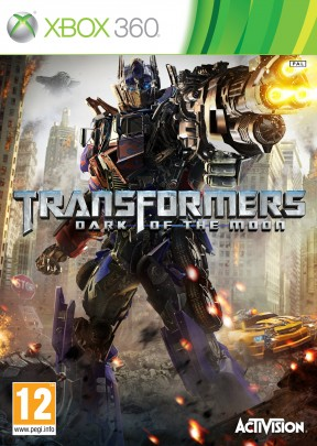 Transformers: Dark of the Moon Xbox 360 Cover