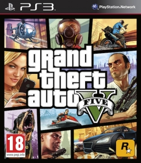 Grand Theft Auto V PS3 Cover