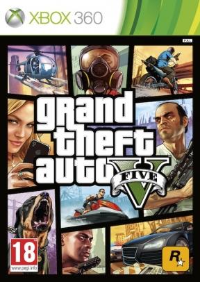 Grand Theft Auto V Xbox 360 Cover