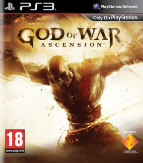 God Of War: Ascension PS3 Cover
