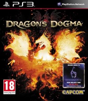 Dragon's Dogma PS3 Cover