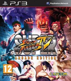 Super Street Fighter IV: Arcade Edition PS3 Cover