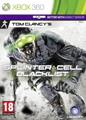 Splinter Cell Blacklist Xbox 360 Cover