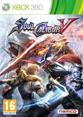 Soul Calibur V Xbox 360 Cover