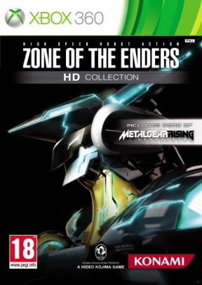 Zone of the Enders HD Collection Xbox 360 Cover
