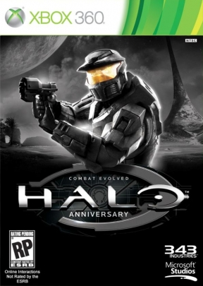 Halo Combat Evolved : Anniversary Xbox 360 Cover