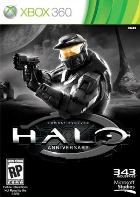 Halo Combat Evolved : Anniversary Xbox 360 Cover