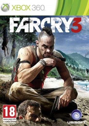 Far Cry 3 Xbox 360 Cover