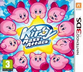 Kirby: Mass Attack 3DS Cover