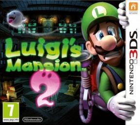 Luigi's Mansion 2 3DS Cover