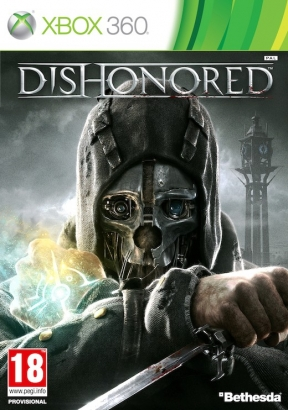 Dishonored Xbox 360 Cover