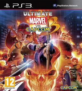 Ultimate Marvel vs Capcom 3 PS3 Cover