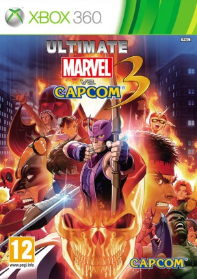 Ultimate Marvel vs Capcom 3 Xbox 360 Cover