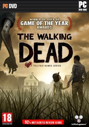 The Walking Dead PC Cover