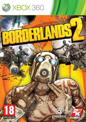 Borderlands 2 Xbox 360 Cover