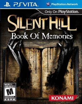 Silent Hill: Book of Memories PS Vita Cover