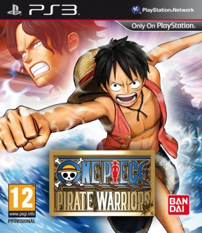 One Piece: Pirate Warriors PS3 Cover