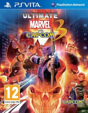 Ultimate Marvel vs Capcom 3 PS Vita Cover