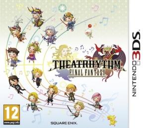 Theatrhythm: Final Fantasy 3DS Cover