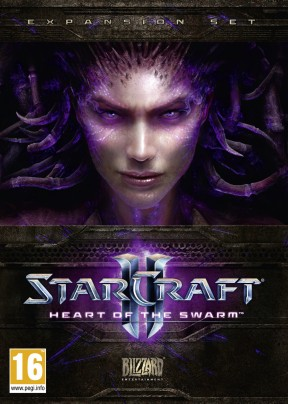 StarCraft II: Heart of the Swarm PC Cover