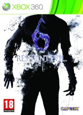 Resident Evil 6 Xbox 360 Cover