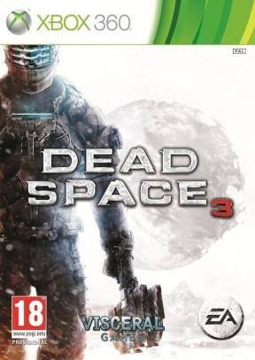 Dead Space 3 Xbox 360 Cover