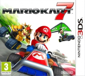 Mario Kart 7 3DS Cover