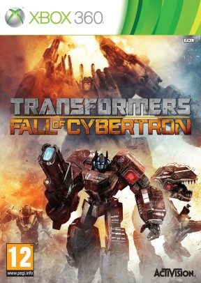 Transformers: Fall of Cybertron Xbox 360 Cover