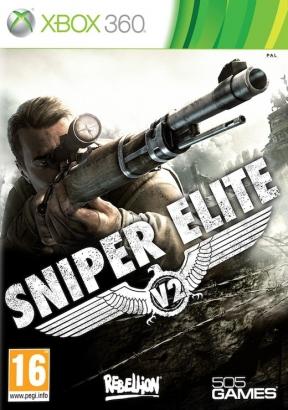 Sniper Elite V2 Xbox 360 Cover