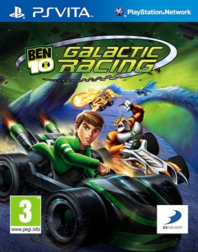 Ben 10 Galactic Racing PS Vita Cover