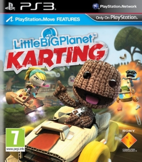 LittleBigPlanet Karting PS3 Cover