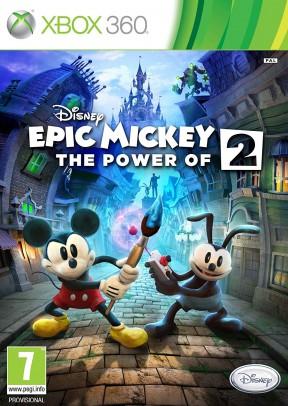 Disney Epic Mickey 2: L'Avventura di Topolino e Oswald Xbox 360 Cover