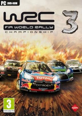 WRC 3: FIA World Rally Championship PC Cover