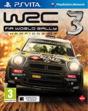 WRC 3: FIA World Rally Championship PS Vita Cover