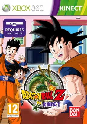 Dragon Ball Z for Kinect Xbox 360 Cover