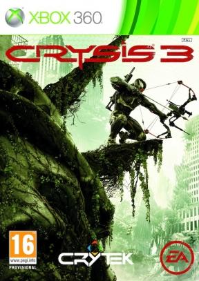 Crysis 3 Xbox 360 Cover