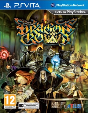 Dragon's Crown PS Vita Cover