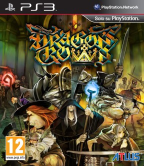 Dragon's Crown PS3 Cover