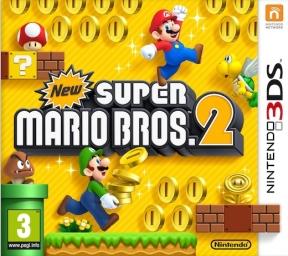 New Super Mario Bros. 2 3DS Cover