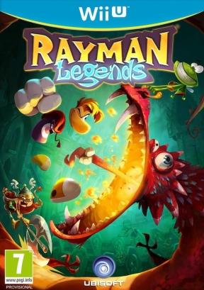 Rayman Legends Wii U Cover