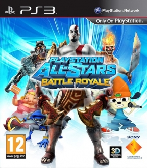 PlayStation All-Stars Battle Royale PS3 Cover