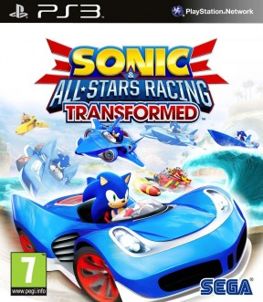 Sonic & All-Stars Racing Transformed PS3 Cover