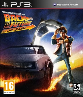 Back to the Future: The Game PS3 Cover