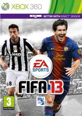 FIFA 13 Xbox 360 Cover