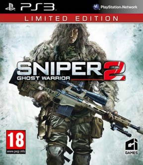 Sniper: Ghost Warrior 2 PS3 Cover